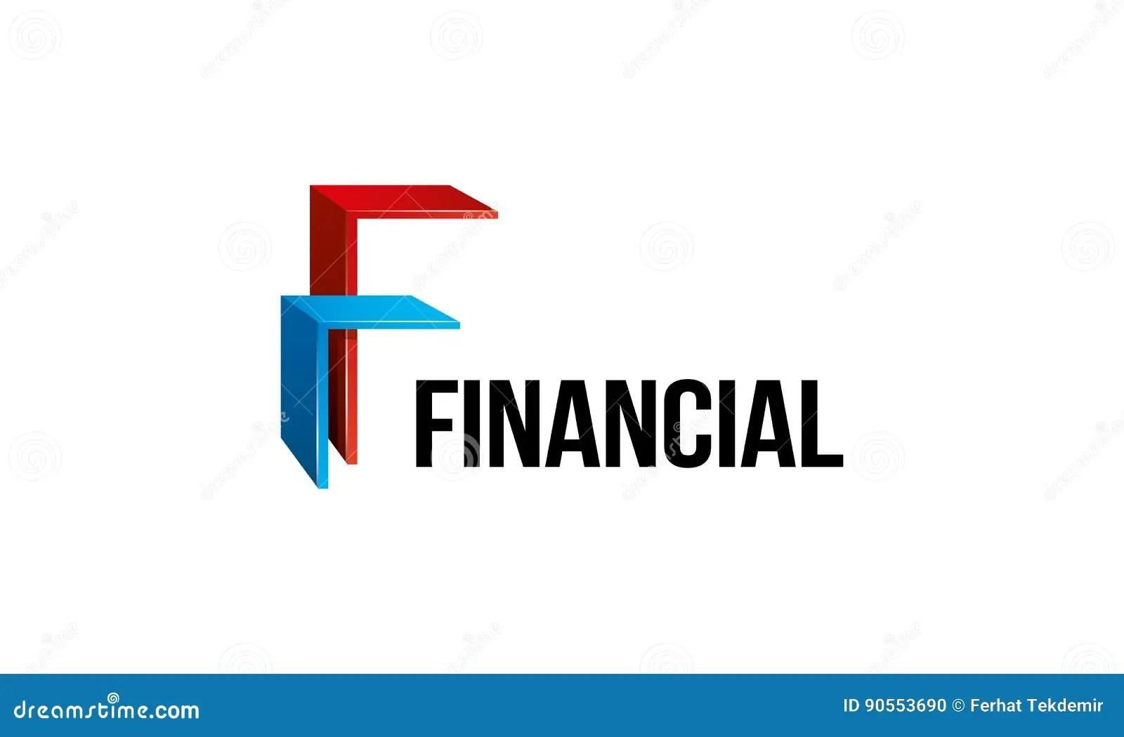 Financial Logo stock illustration. Image of analysia