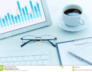 Financial Report Stock Photos Images Royalty Free