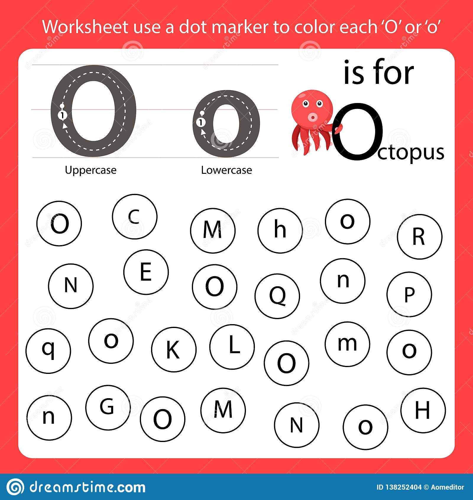 Color By Letter U Worksheet