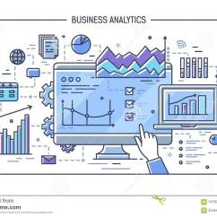 Statistical Analysis Graphs And Diagrams Intermatic Wiring Diagram Finger Pointing At Computer Display With Different