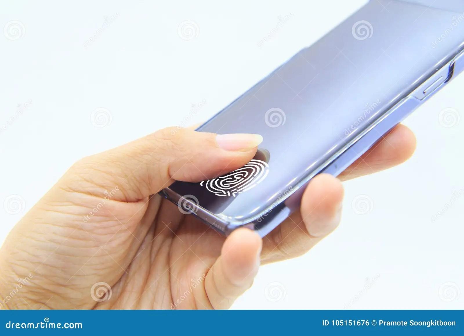 fingerprint scanner on mobile