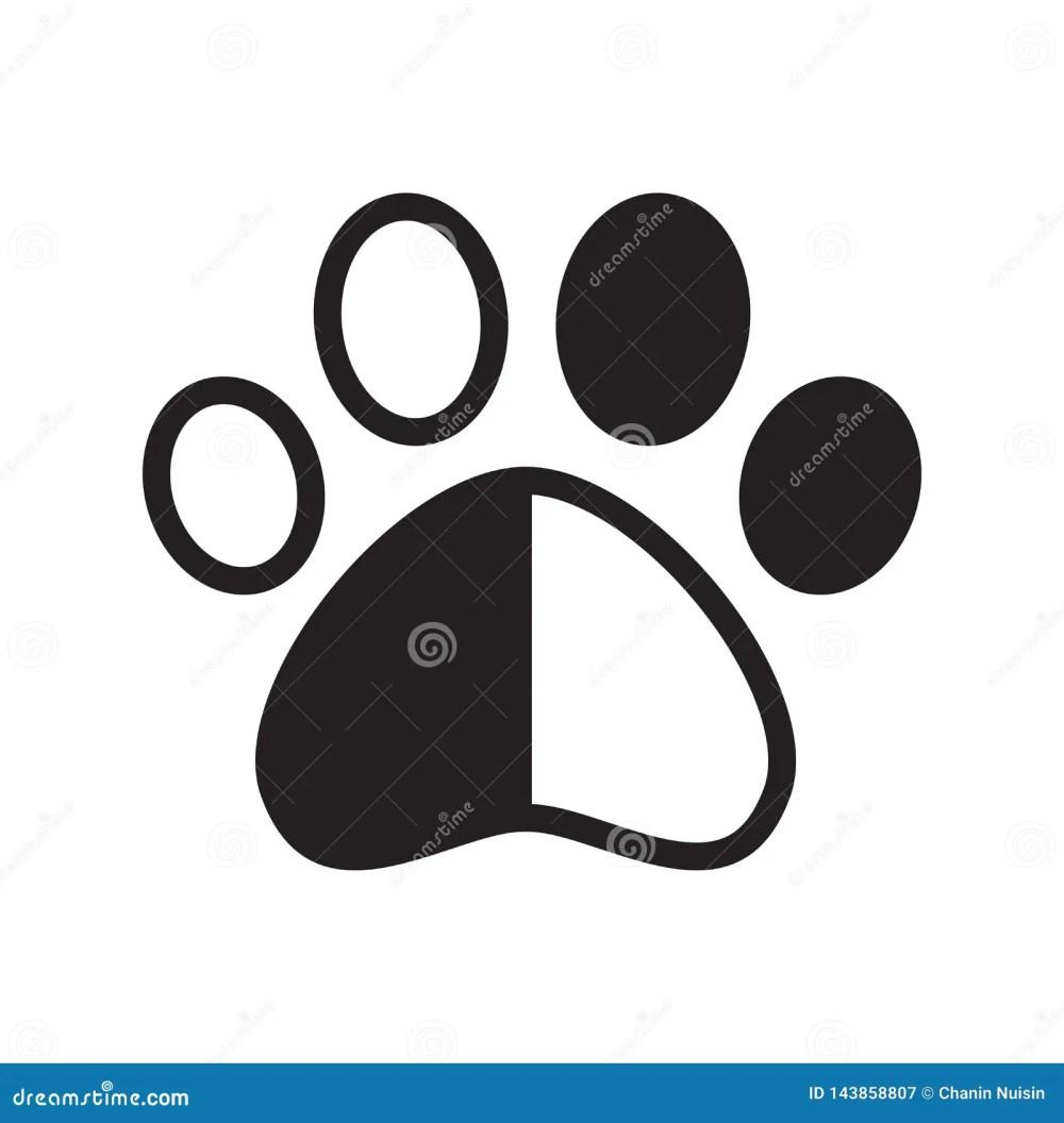 medium resolution of dog paw vector footprint icon logo pet cat kitten claw cartoon character graphic symbol illustration french bulldog bear
