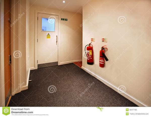 Fire Exit Royalty Free Stock - 30477185
