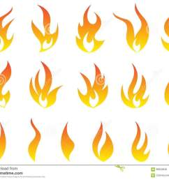 fire flames logo heat energy collection symbol vector icons design isolated on white background  [ 1300 x 1065 Pixel ]