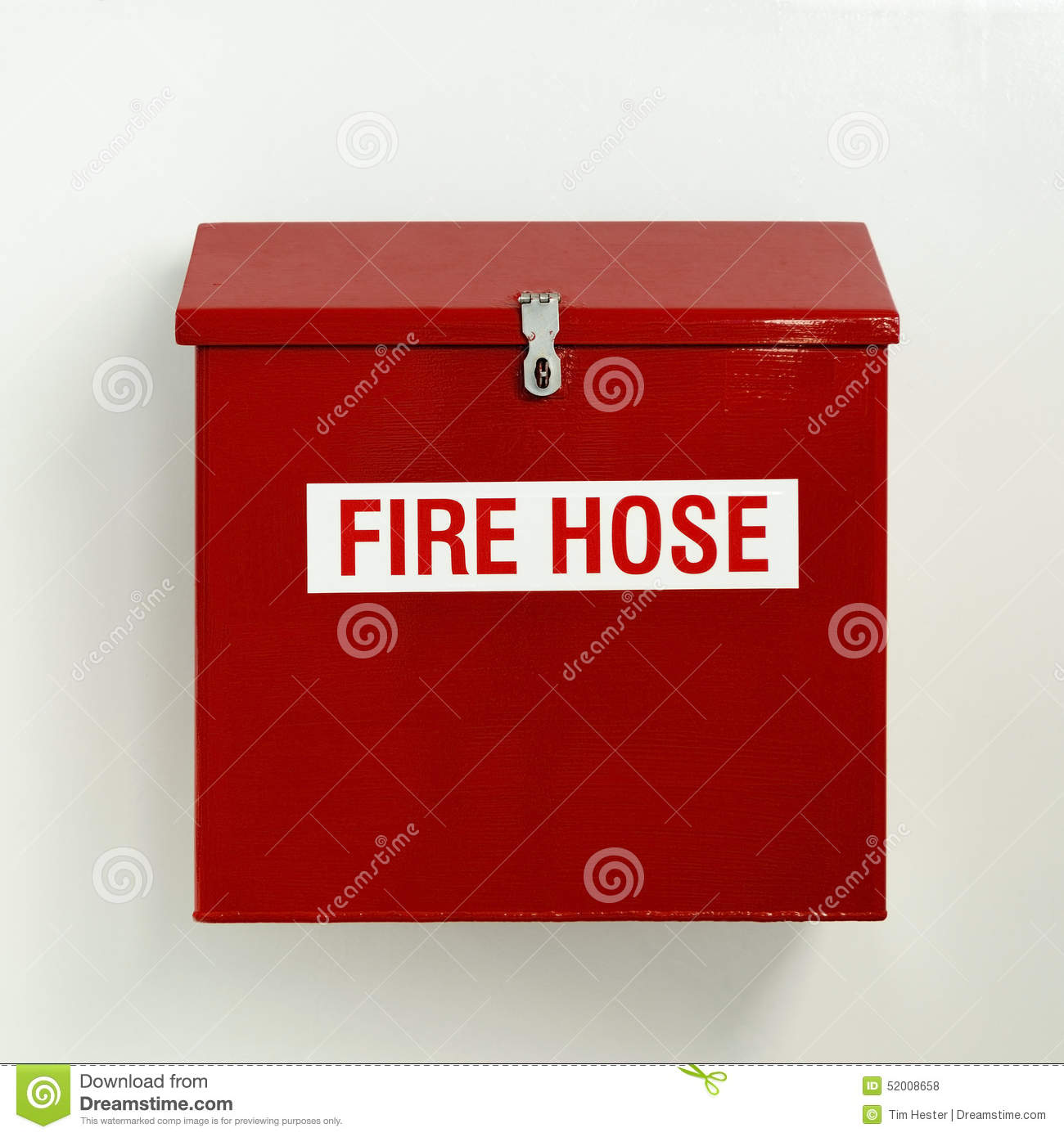 Fire Hose Box stock photo Image of equipment cabinet