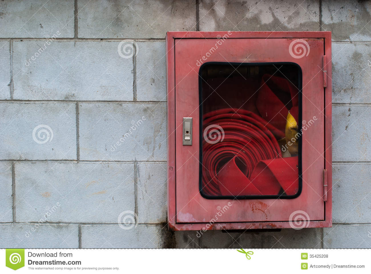Fire Hose Cabinet Royalty Free Stock Photos  Image 35425208
