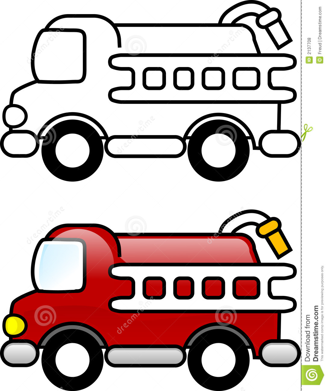 Fire Truck Stock Illustration Illustration Of Clipart