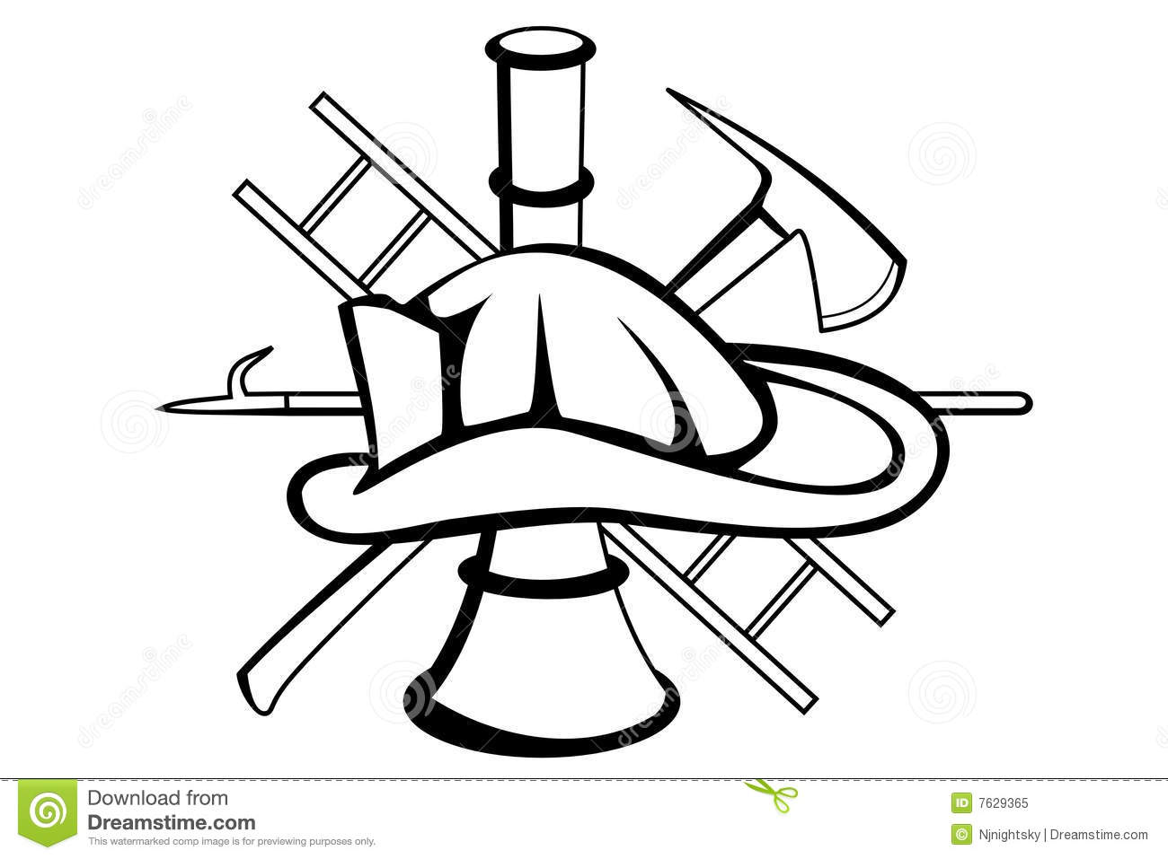 Fire Plan Symbols Coloring Pages