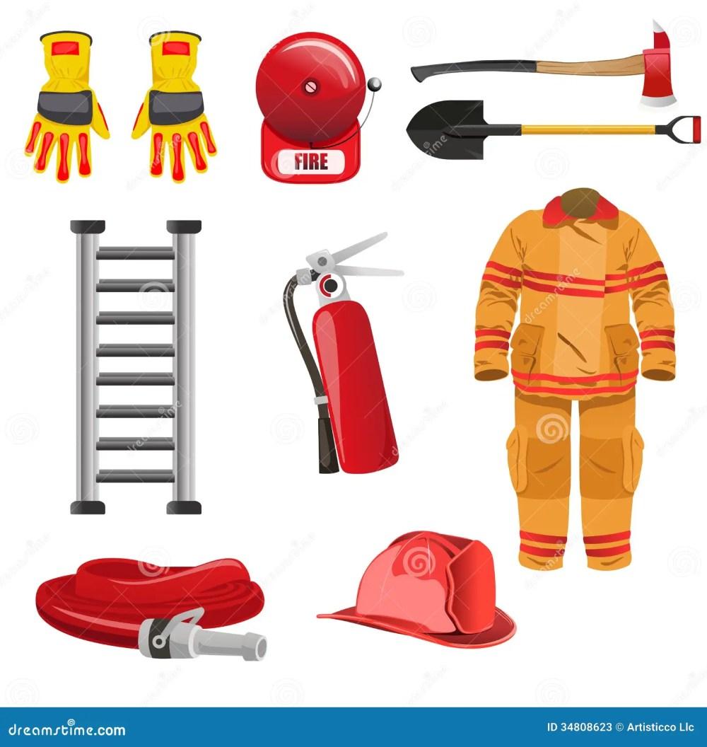 medium resolution of firefighters icons stock photos image 34808623