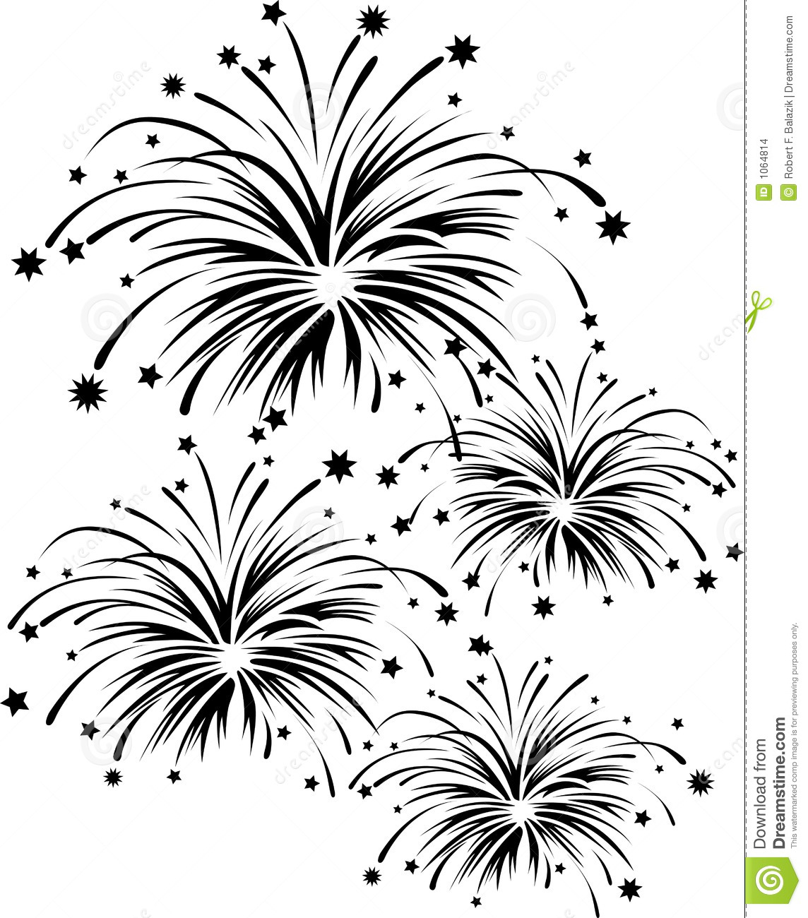 Fireworks Stock Illustration Illustration Of Clipart