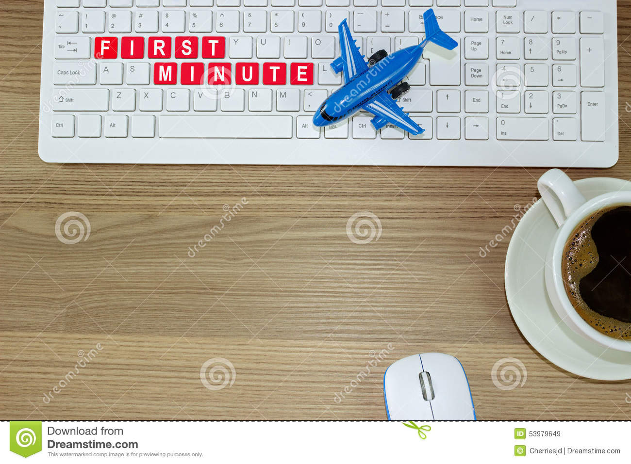 First Minute To Buy A Plane Ticket Stock Image - Image of flight. background: 53979649