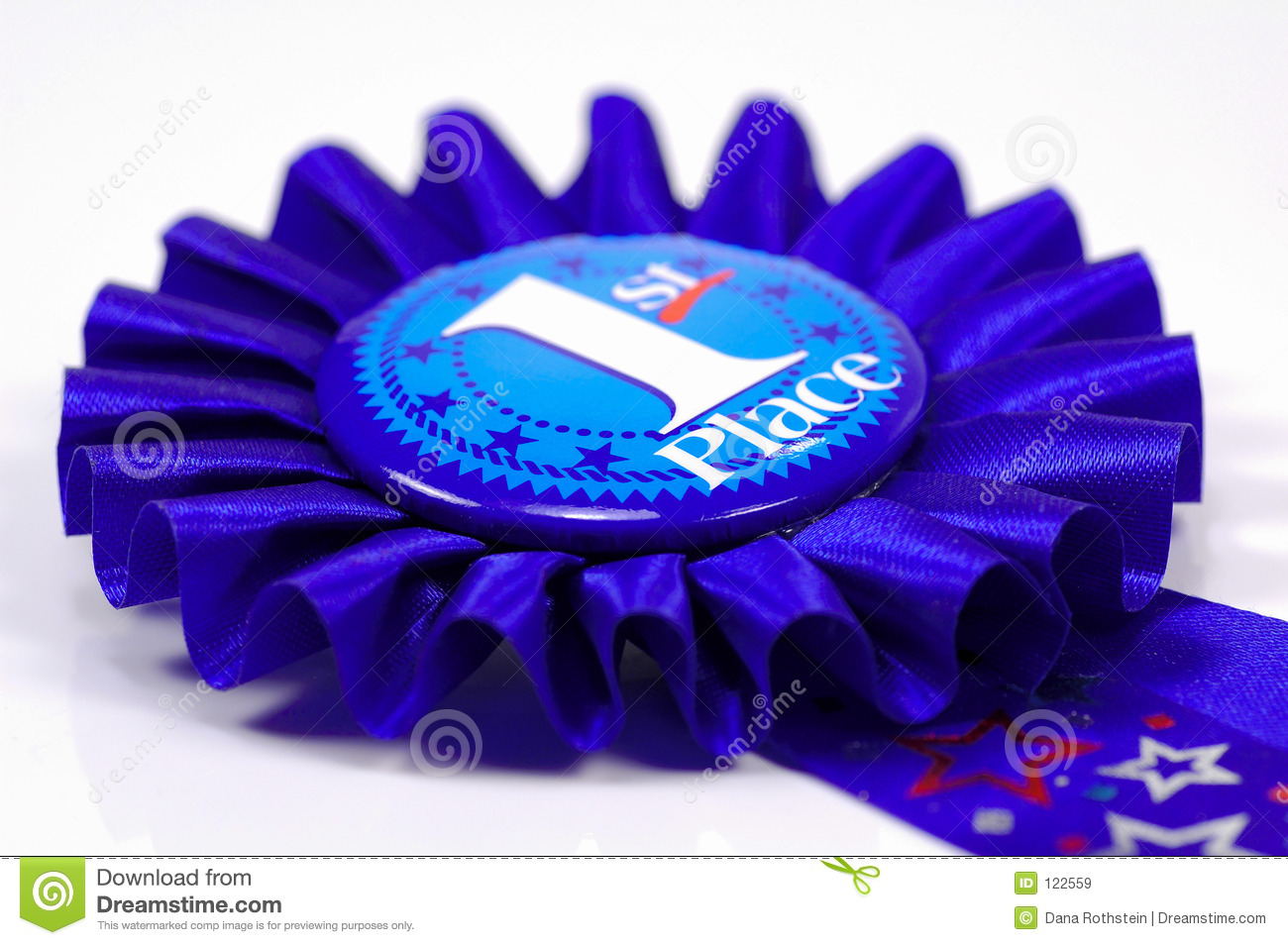 First Place Ribbon Stock Image Image Of Race Ribbon