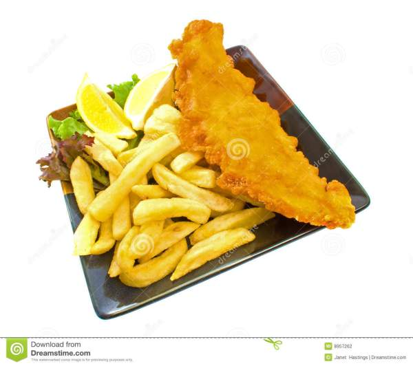 Fish and Chips Clip Art