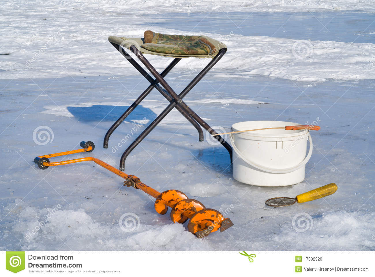 ice fishing chair maplestory tall patio chairs hold 350 lbs on equipment 3 stock photo image 17392920