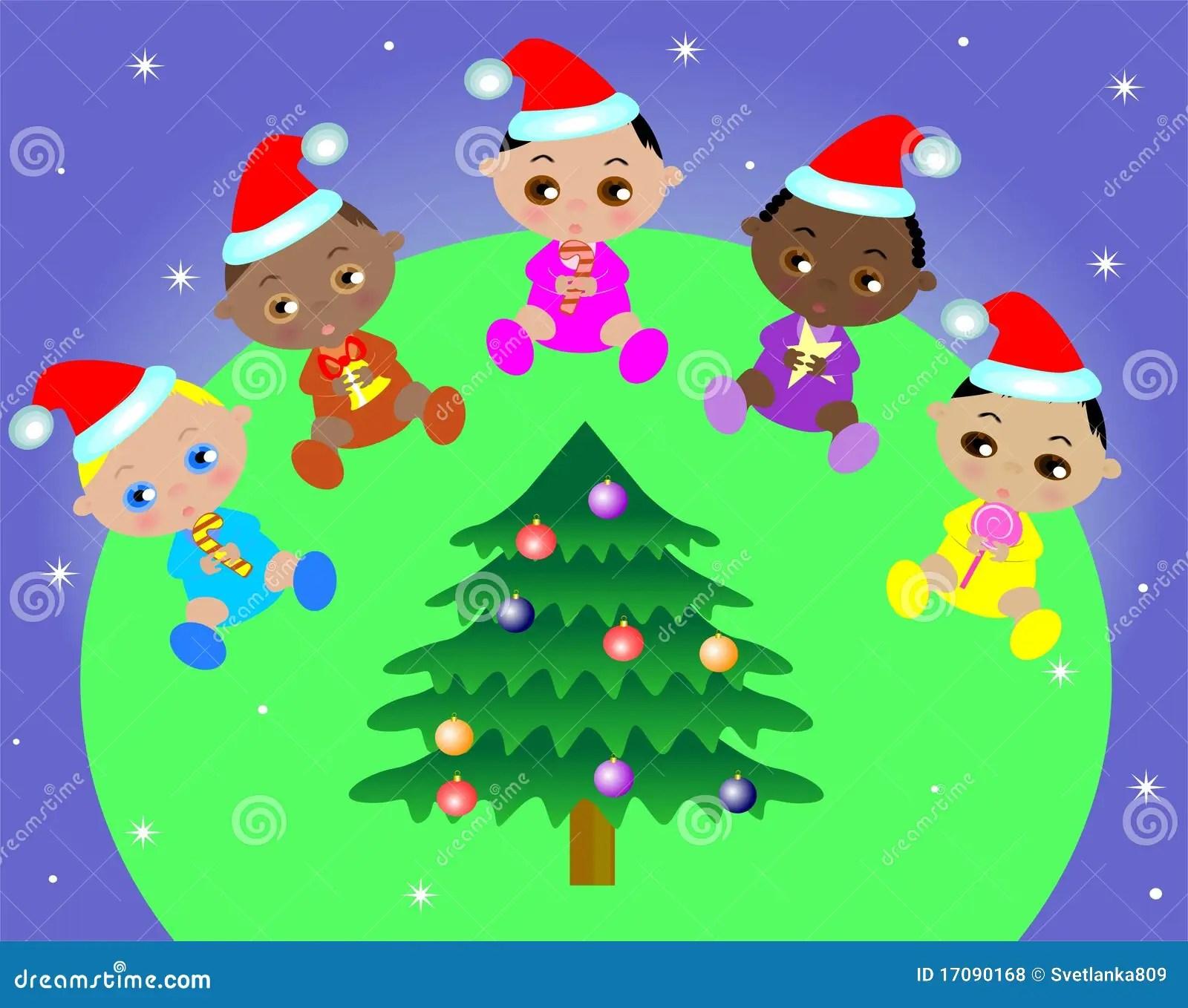 Five Kids Stock Vector Illustration Of Star Cheerful