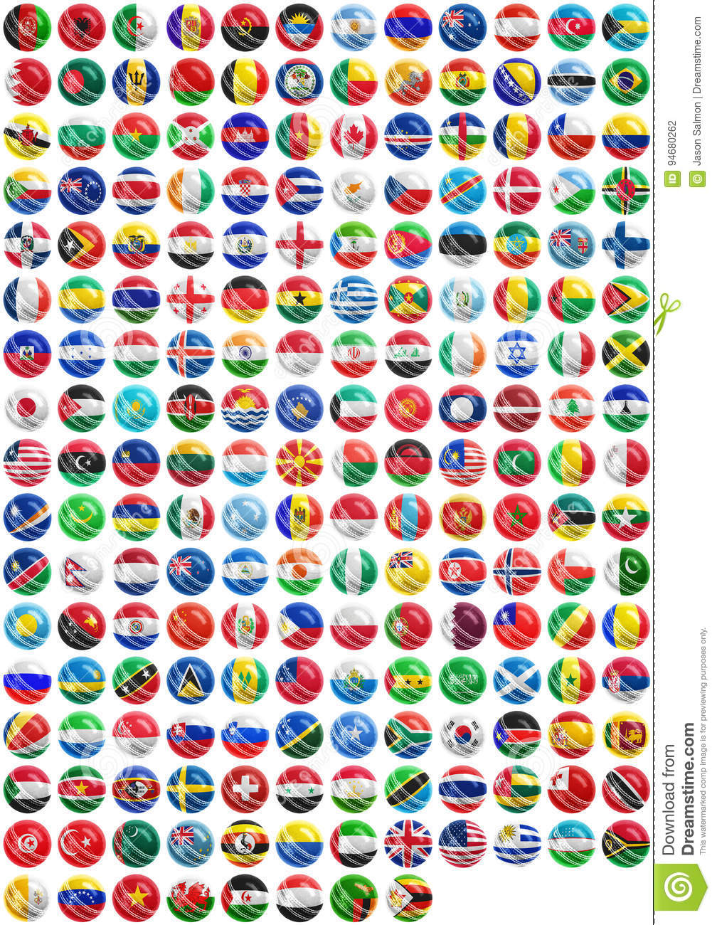 flags of countries on
