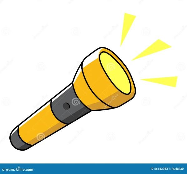 Flashlight Stock Vector - 56182983
