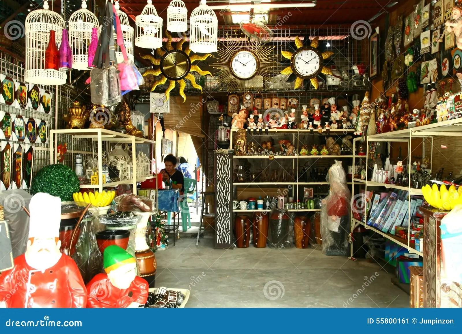 Flea Market Stores In Dapitan Arcade In Manila Philippines