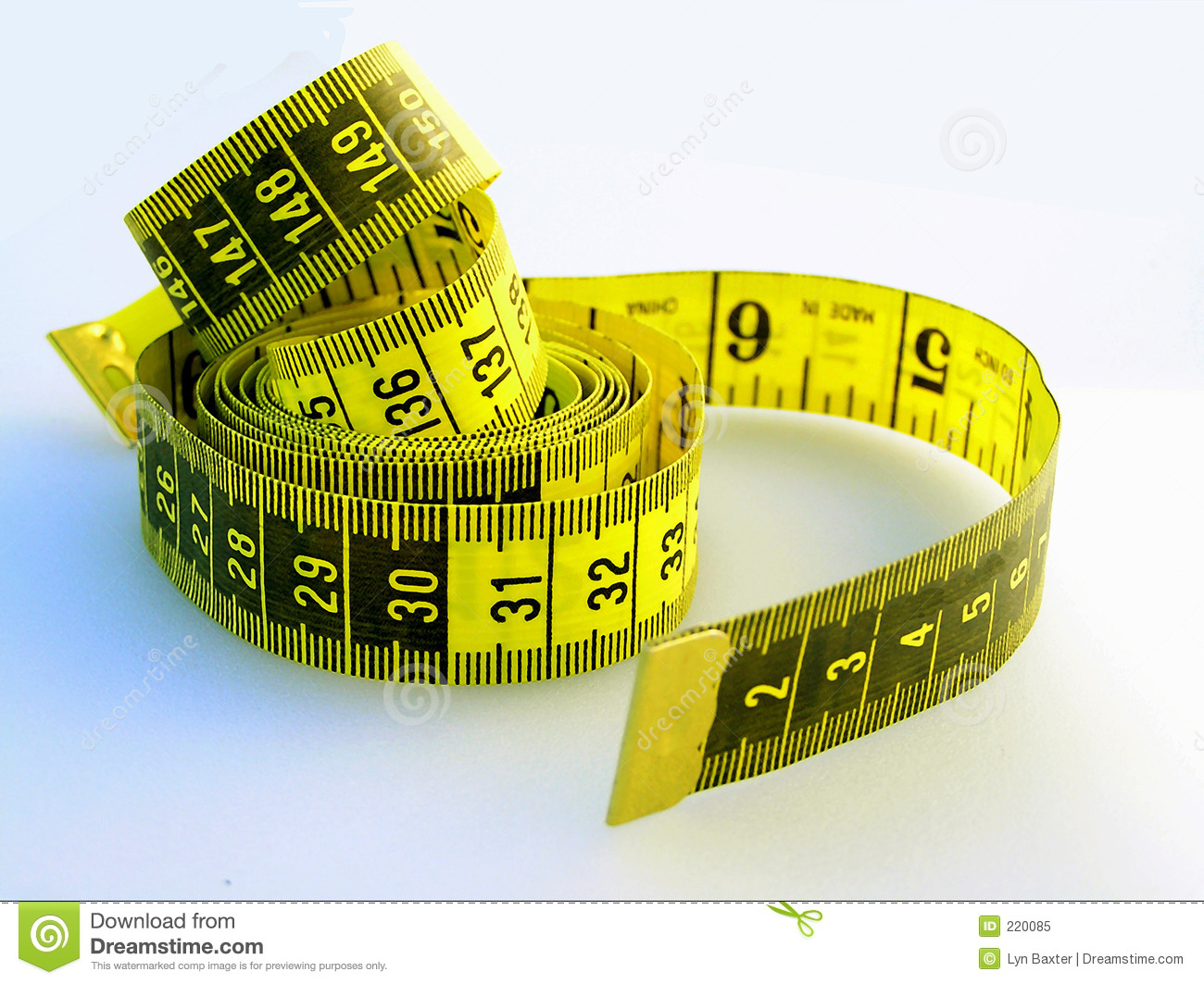 Flexible Tape Measure Stock Image Image Oft