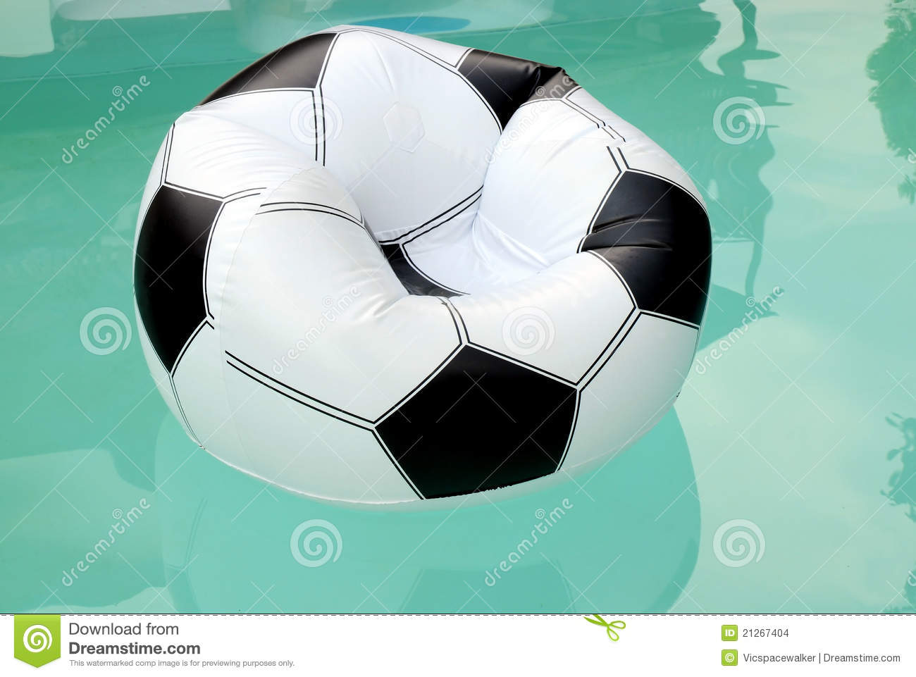 inflatable soccer ball chair double pressed back oak chairs floating rubber armchair stock images image