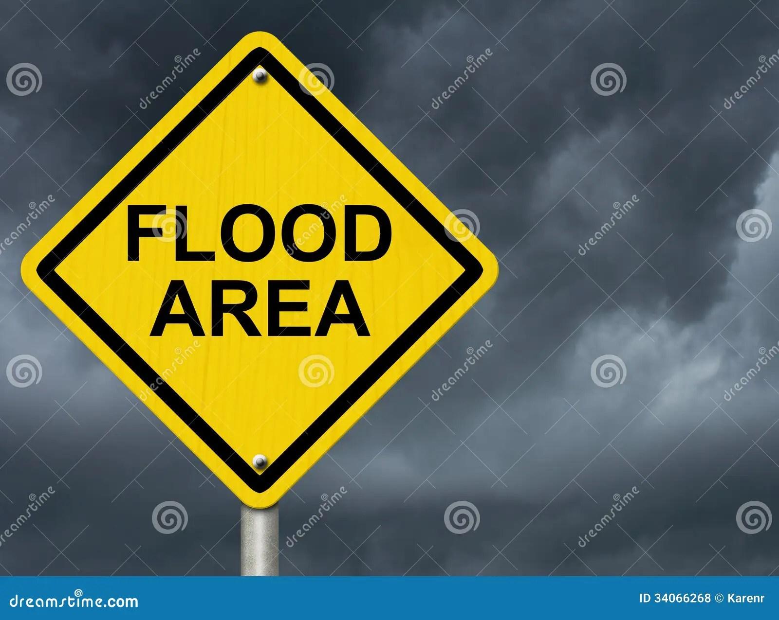 Flood Warning Royalty Free Stock Photos  Image 34066268