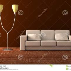 Sofa Floor Lamp House Of Fraser Sofas Leather And Royalty Free Illustration