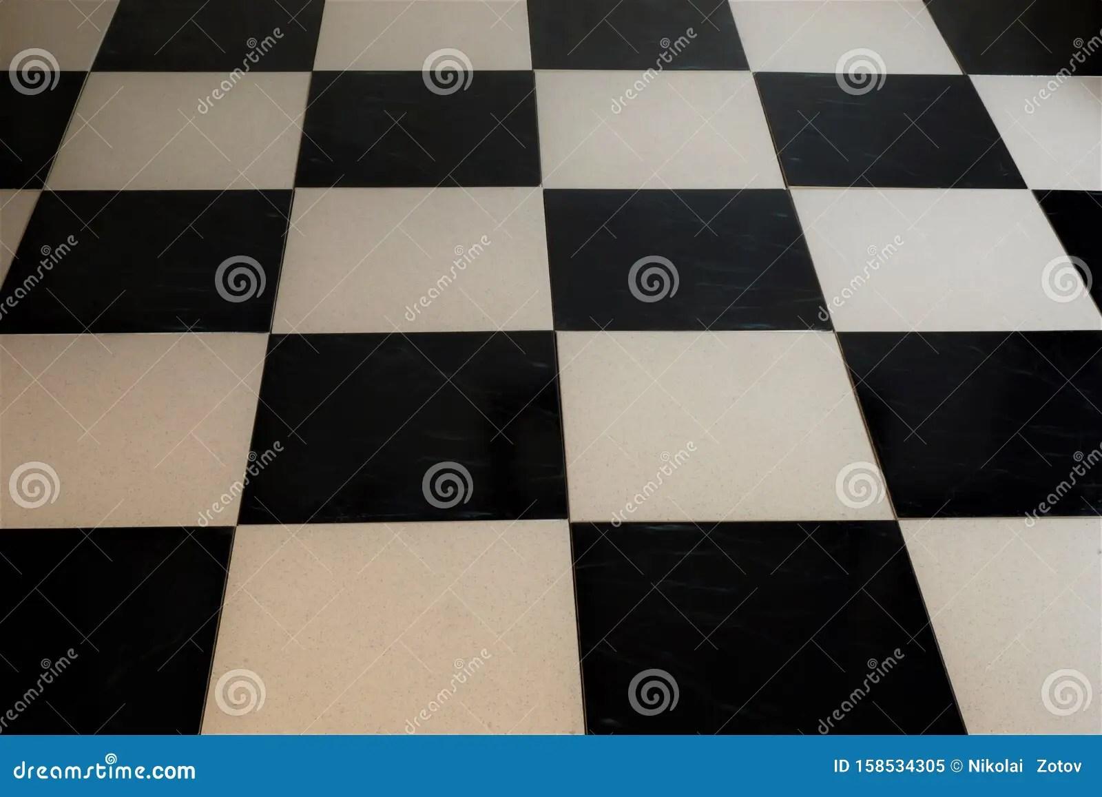 https www dreamstime com floor tiles mosaic background interior design black white tiles stone floor staggered tile cladding bath image158534305
