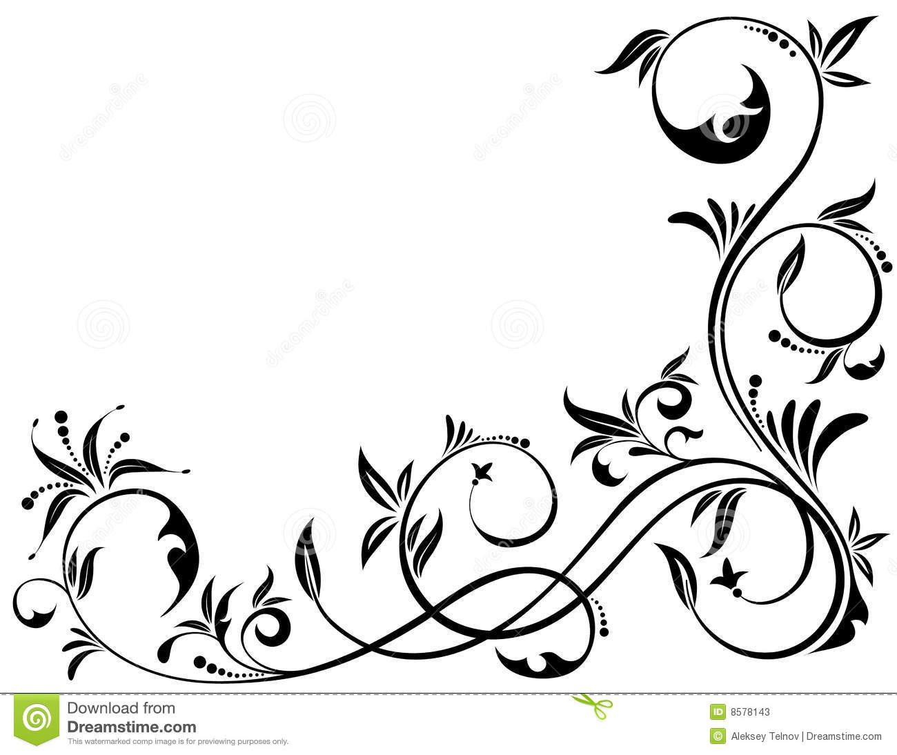 Floral Background Stock Photos  Image 8578143