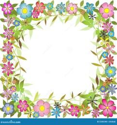 floral background border [ 1300 x 1387 Pixel ]