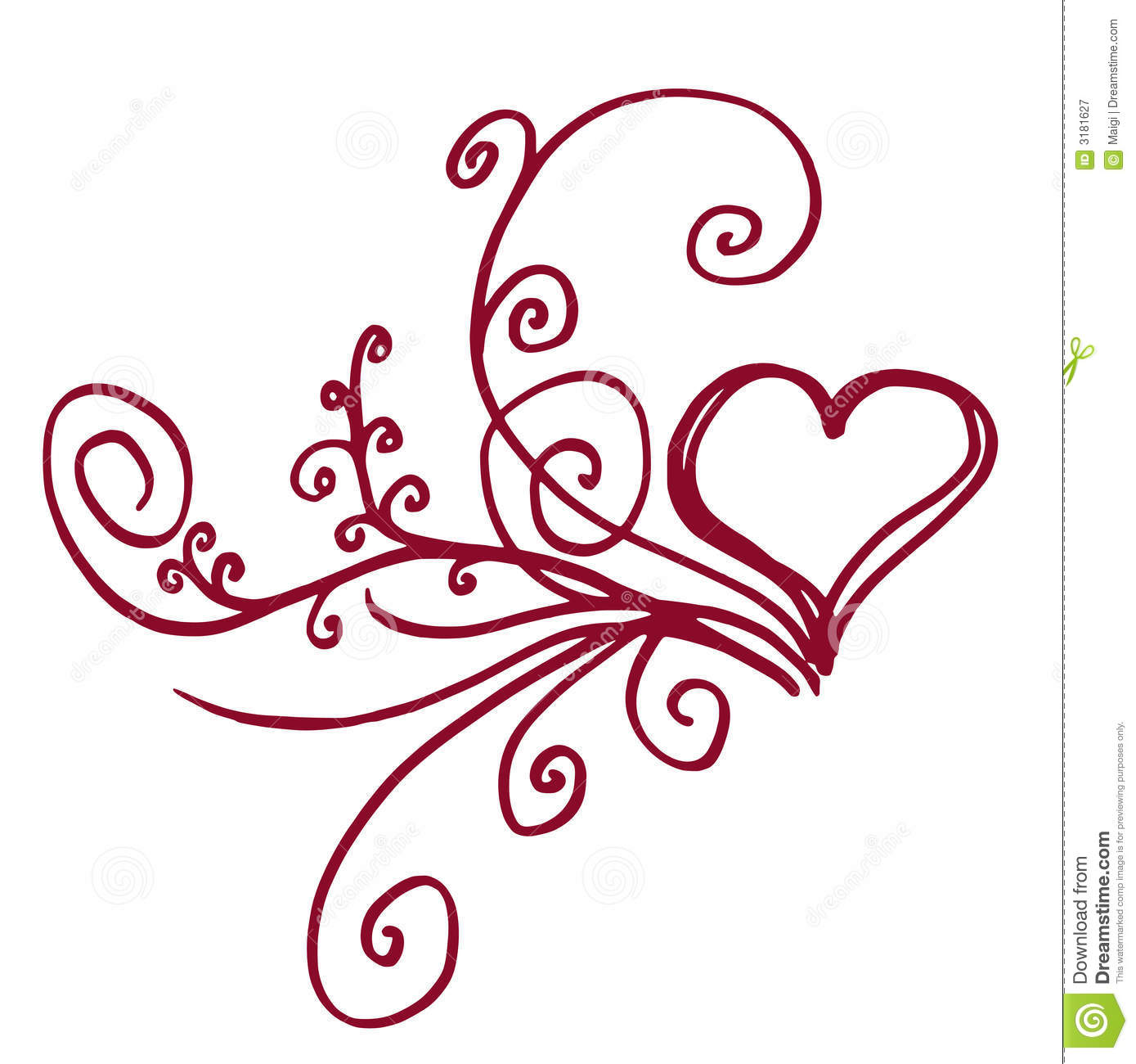 Floral Heart Royalty Free Stock Photography Image 3181627
