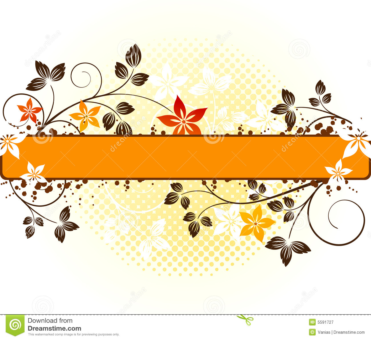 Floral Vector Design Stock Vector Illustration Of Paper