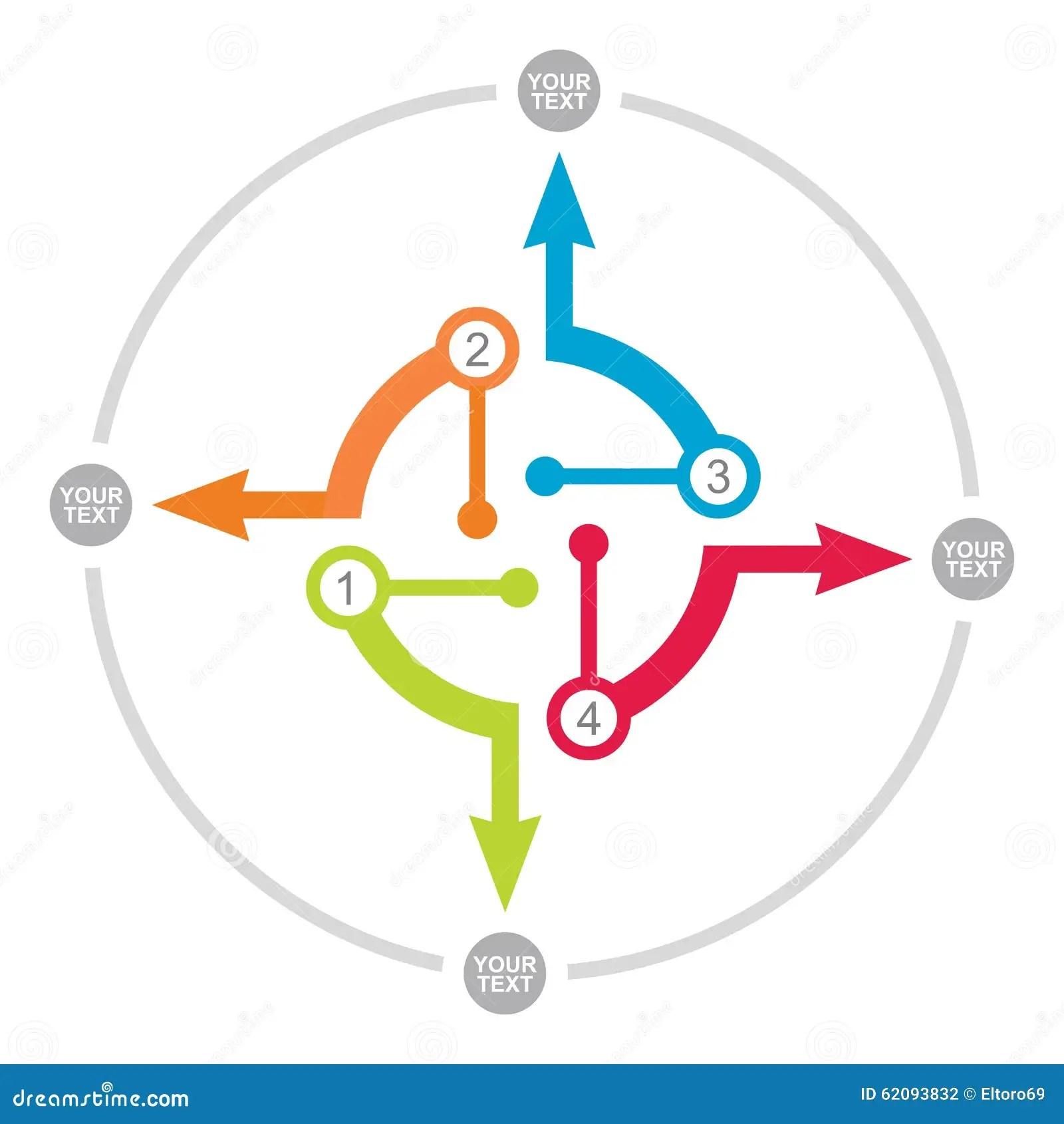Diagram_Linear_Flow_Arrow_Process_Diagram_Powerpoint_Template_Slide03. Flow  Chart Template Stock Vector – Image: 62093832
