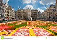 Flower Carpet In Brussels 2010 Editorial Photo - Image ...