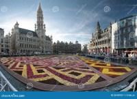 Flower Carpet In Brussels, Belgium Editorial Photo - Image ...