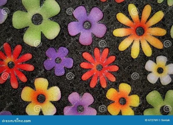 Flower Door Mat Stock Of Doorway Texture