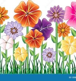 flower garden [ 1300 x 849 Pixel ]