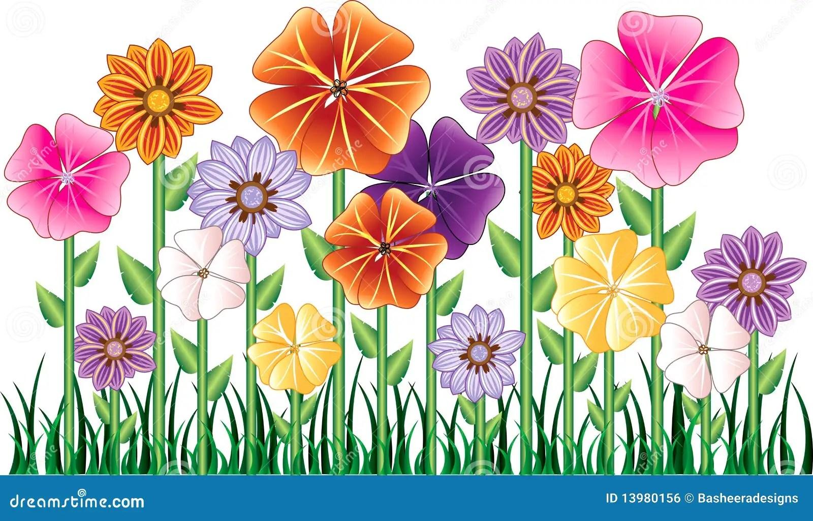 hight resolution of flower garden