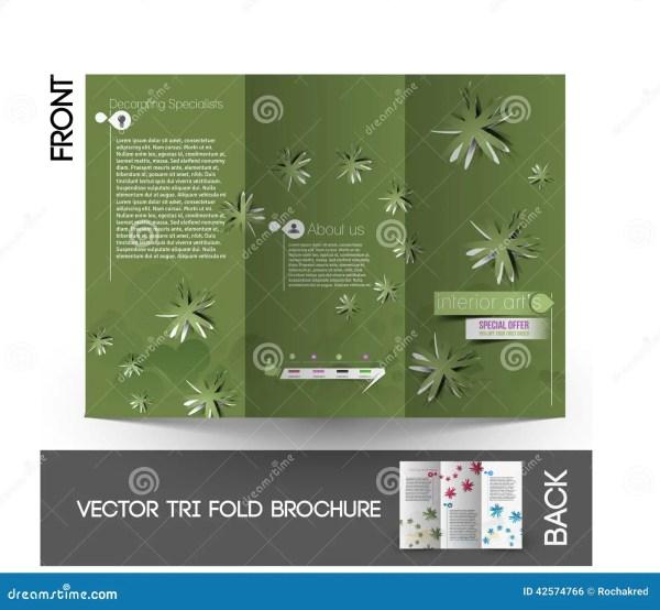 Flower Flyer Design Cartoon Vector #40489325
