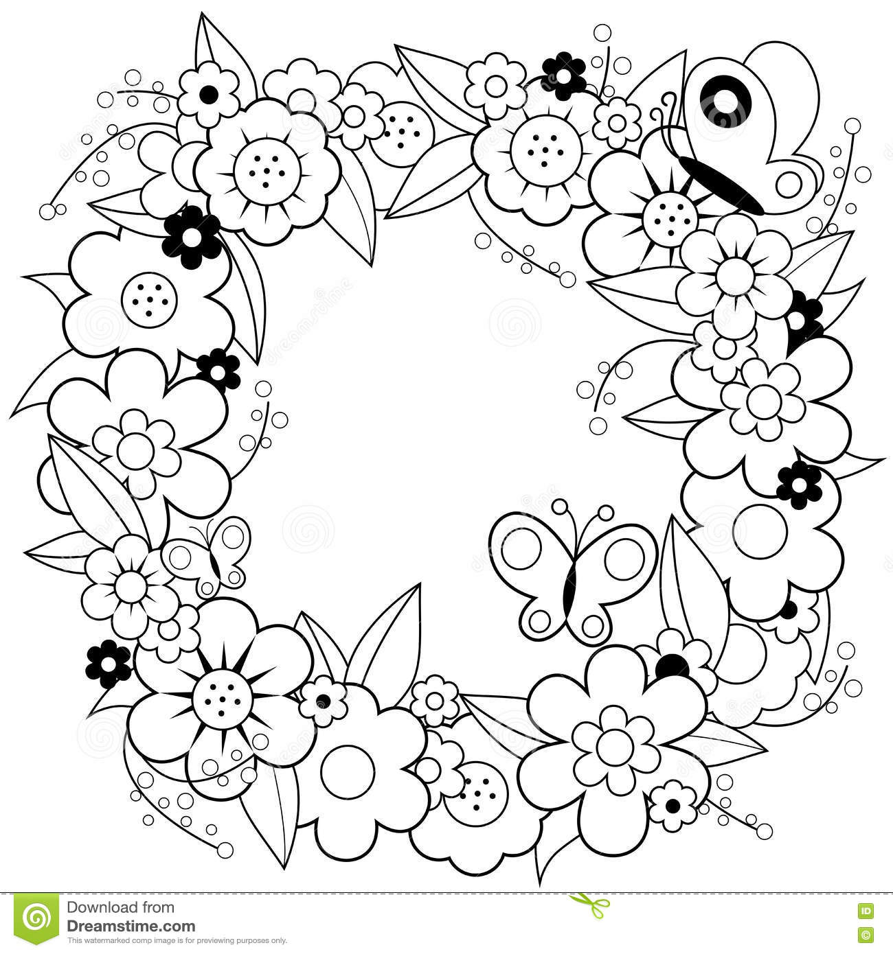 Spring Door Decorations Printable
