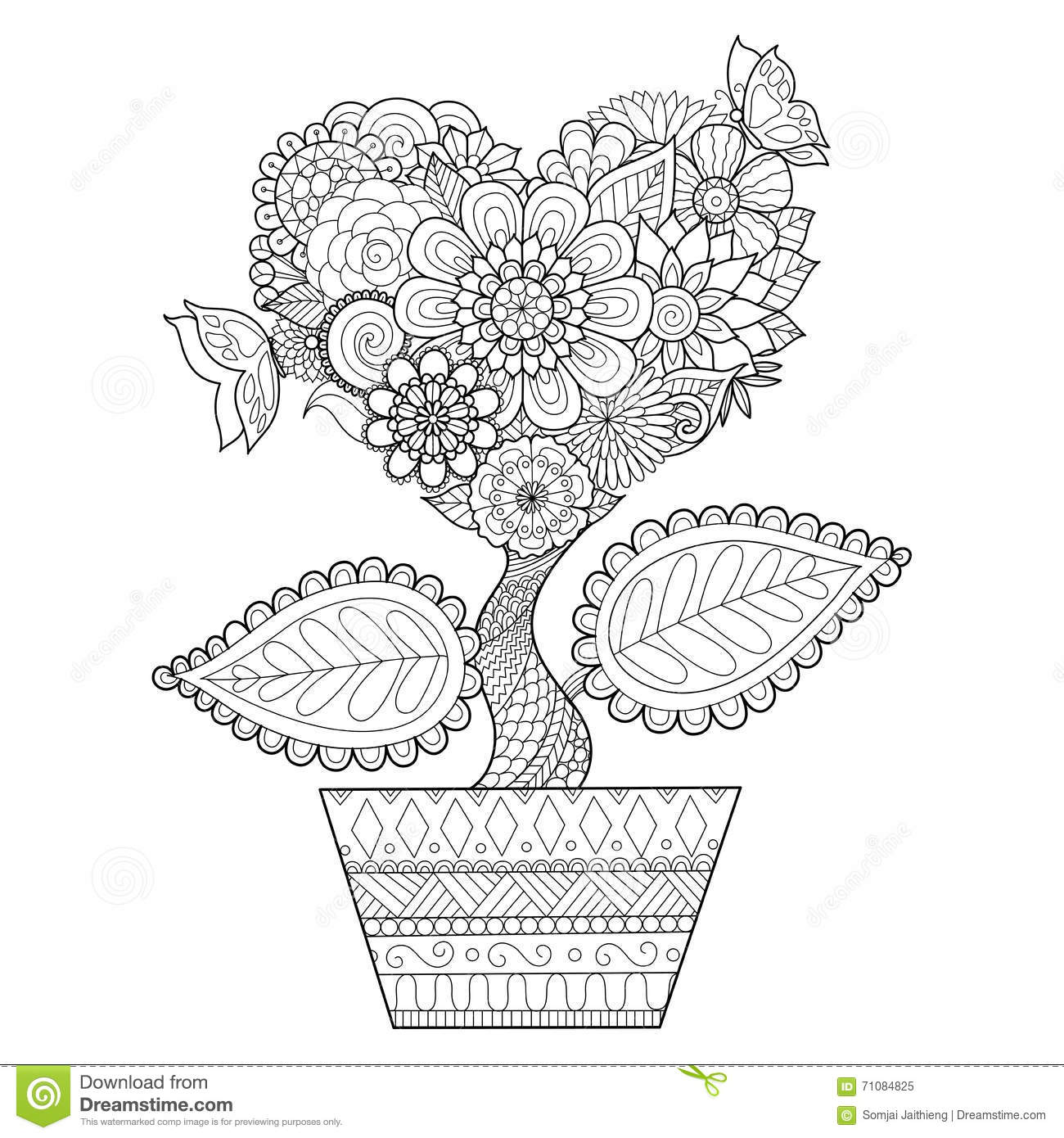Henna Hand Coloring Pages Printable Coloring Pages