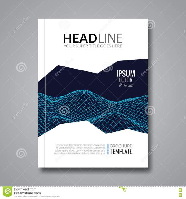 Flyer Template Technology Brochure Layout Tamplate