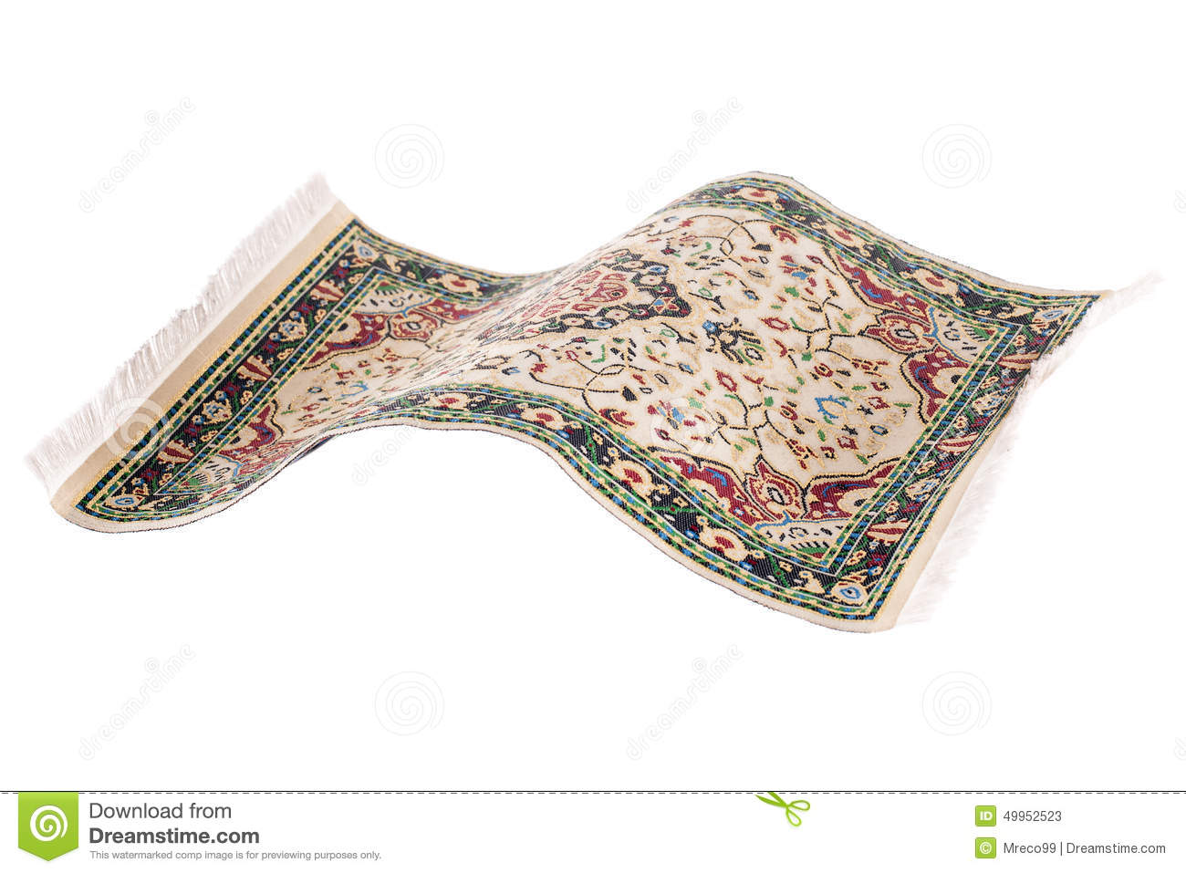 Fliegender Teppich Fotos Flying Magic Carpet Isolated Stock Photo Image 49952523