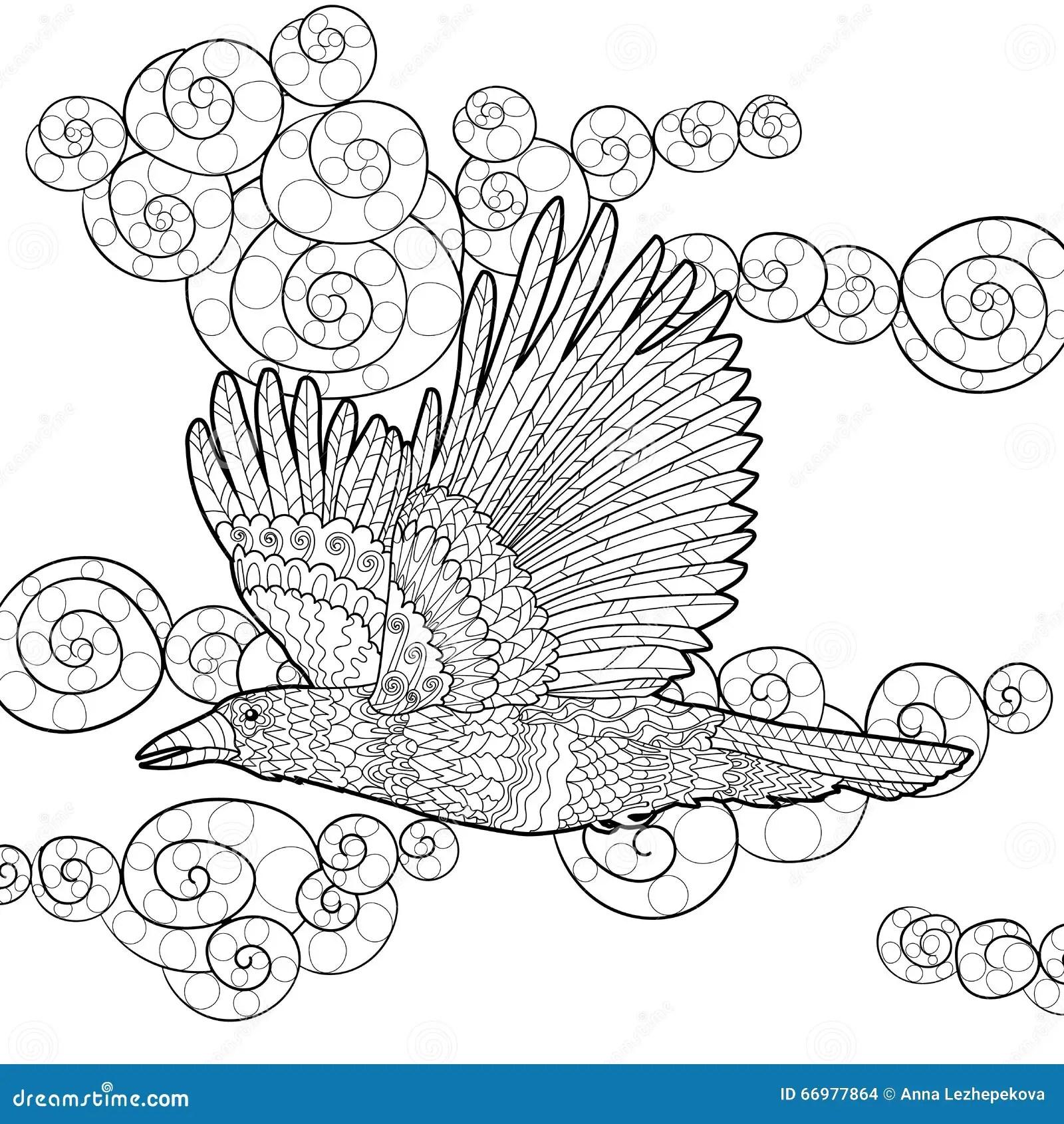 Raven Stock Illustrations