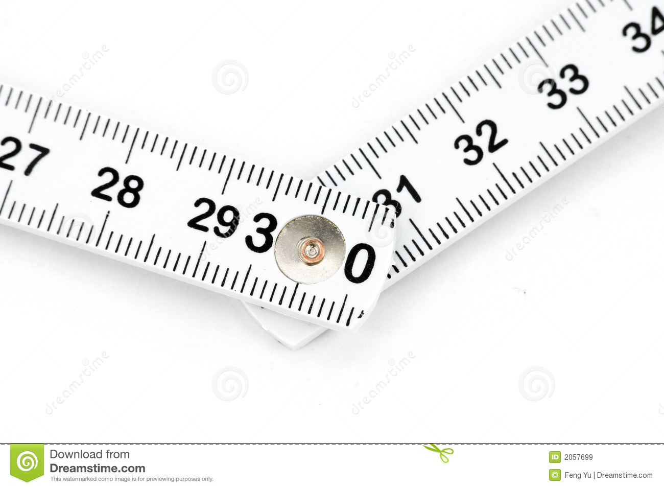 Foldable tape Measure stock image. Image of foldable