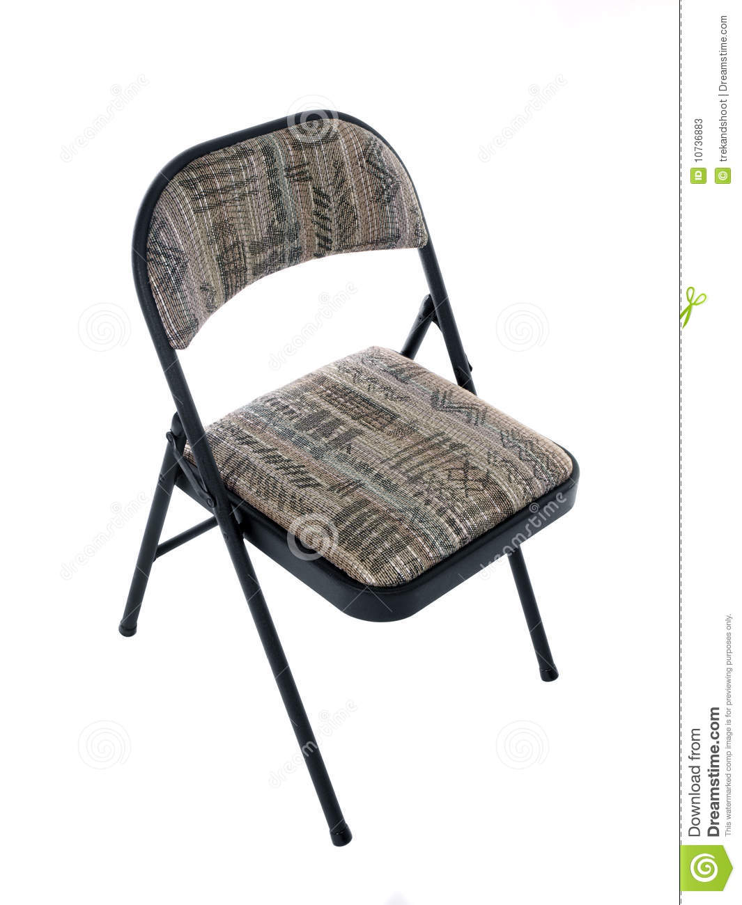Soft Folding Chairs Folding Chair Stock Photos Image 10736883