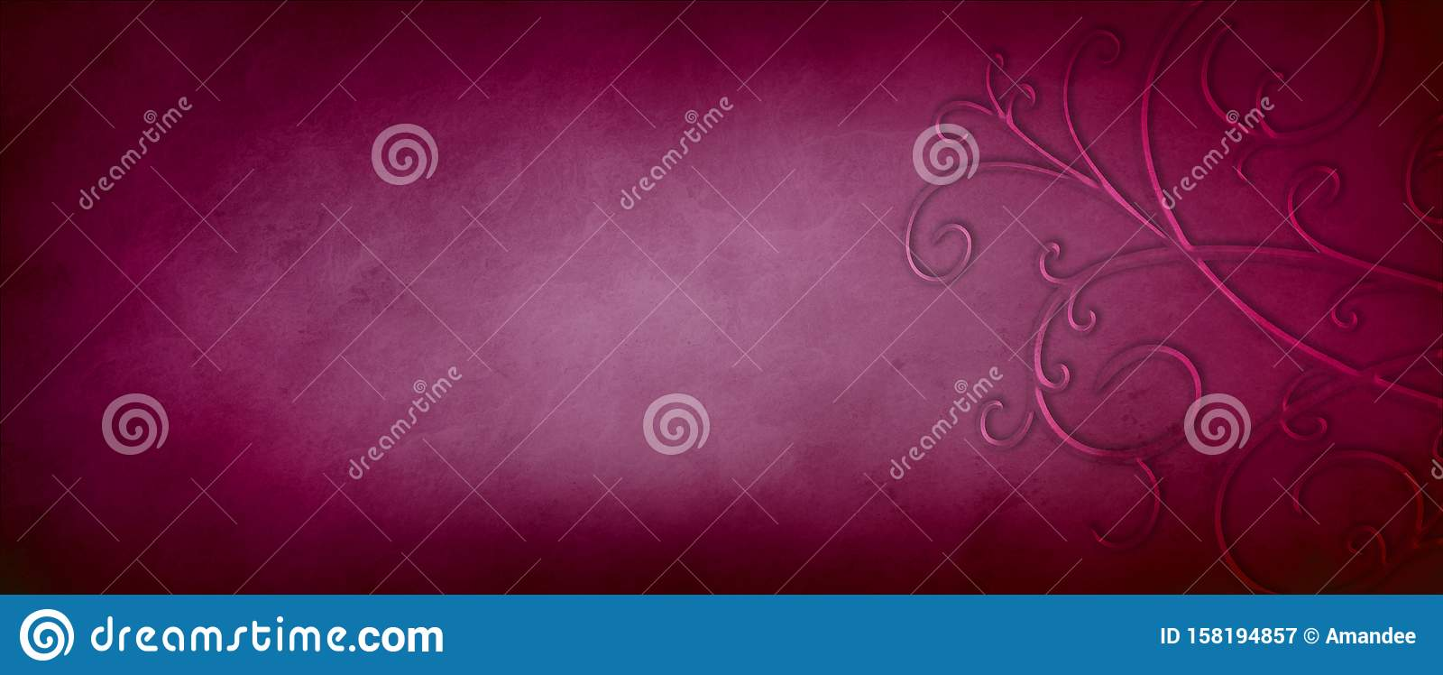 fond rouge bourgogne ou rose fonce avec