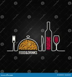 menu drink boissons nourriture fond mat och bevanda alimento fondo della
