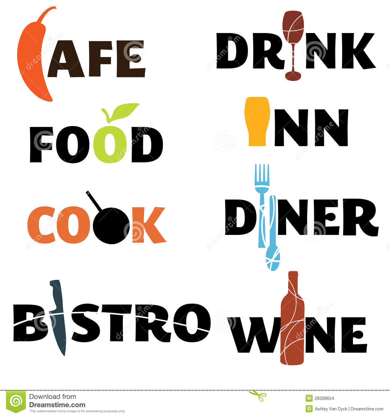 food and drink word