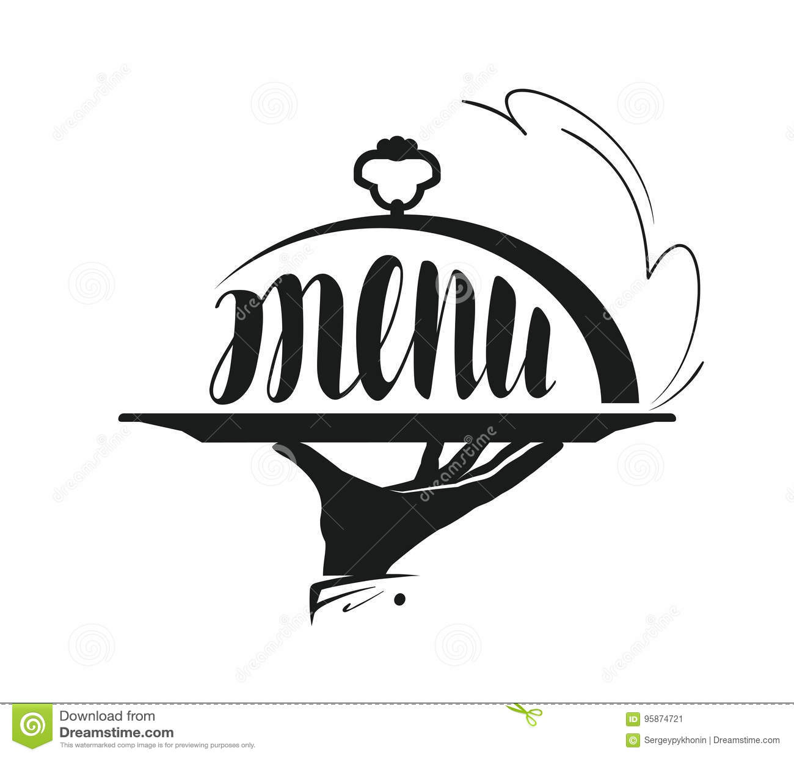 Restaurant Amp Cafe Logo Vector Illustration