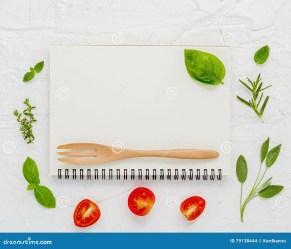 menu background food foods notebook dinner preview